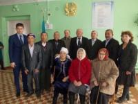 Круглый стол «Свидетели истории родного края» в рамках государственной программы Н.А. Назарбаева «Рухани жангыру»